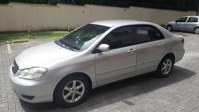 Raridade: Corolla XEI 2003/2003, câmbio manual,impecável, aceito troca
