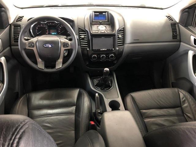 Caminhonete Ford Ranger XLT 2.5 4x2 Flex 2013 - Ipva Pago e Pneus Novos - Foto 8