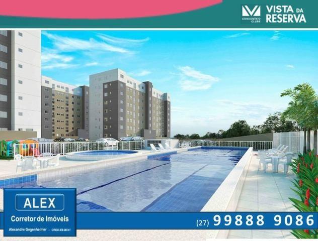 ALX - 14 - APÊ de 2 Quartos, Lazer com piscina e academia - Vista da Reserva