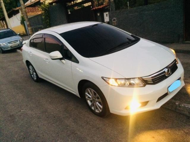 Honda Cívic EXR 2013/2014 Automático impecável - não é de leilão - Foto 5