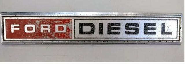 Emblema F1000 Diesel 80 A 82 Peça Original