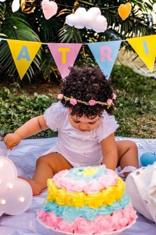 Fotografia com ensaio externo Gestantes,Aniversário,amassando o Bolo,Família - Foto 3