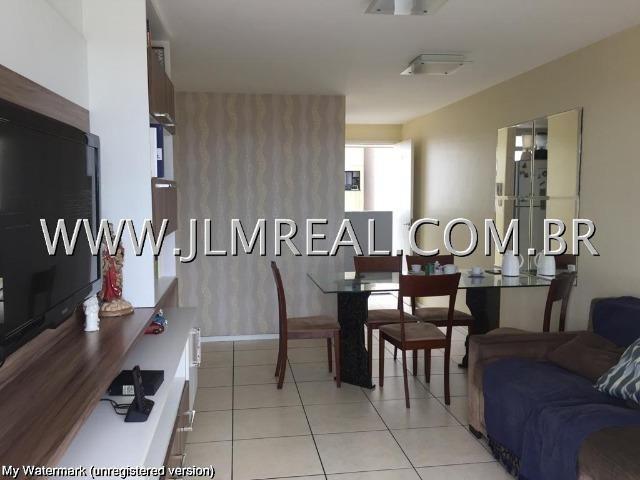 (Cod.:107 - Damas) - Vendo Apartamento 74m², 3 Quartos, Piscina, 2 Vagas - Foto 2