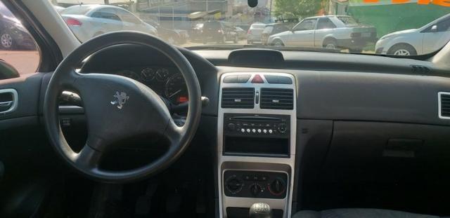 307 Hatch completo GNV 5º geração. Troco/financio 48x - Foto 6