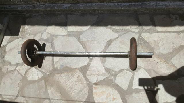 Barras com anilhas ( exercícios)