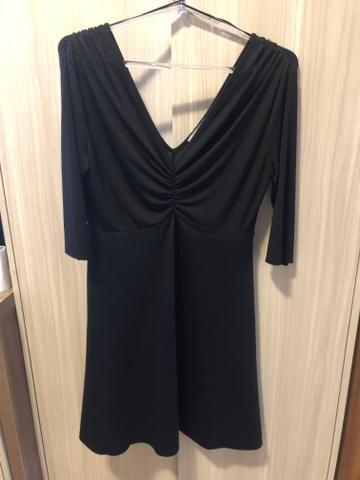 Vestido P preto Zara