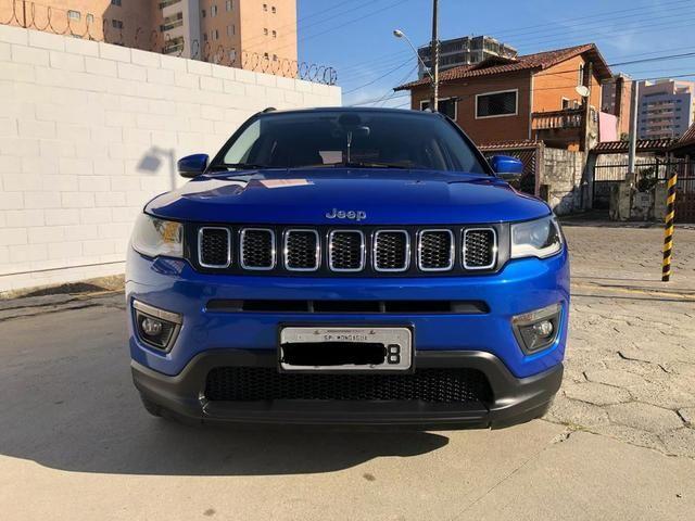 Jeep Compass Longitude 17/17 com Pack Premium e Safaty