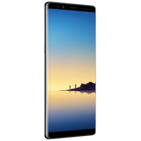 Galaxy Note 8 Preto 64gb com capa e carregador wireless