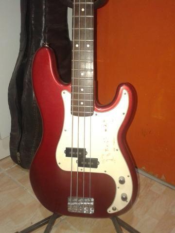 Contrabaixo Fender Precision mexicano - Foto 3