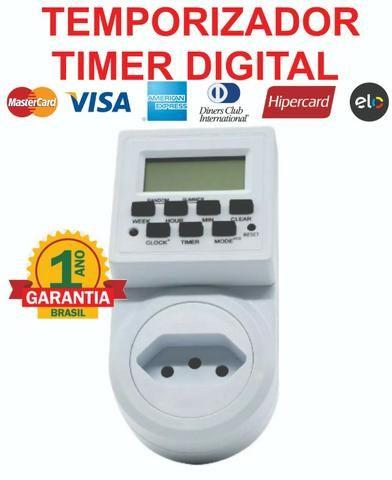 Timer Temporizador Digital Prog/dia Liga E Desliga