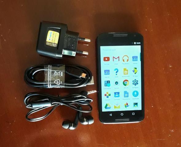 Vendo Moto X2 De 32GB C/ acessórios - Foto 3