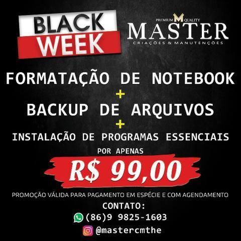 Manutenção de Notebook (Master Criações e Manutenções)