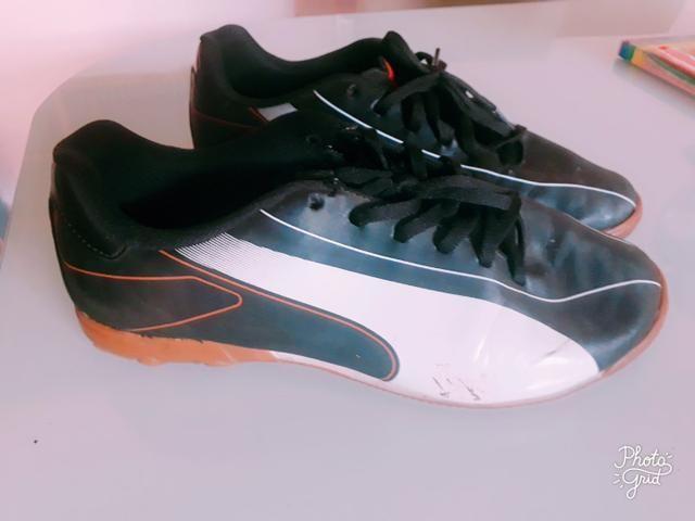 Tênis/ Chuteira Puma Futsal - Foto 3