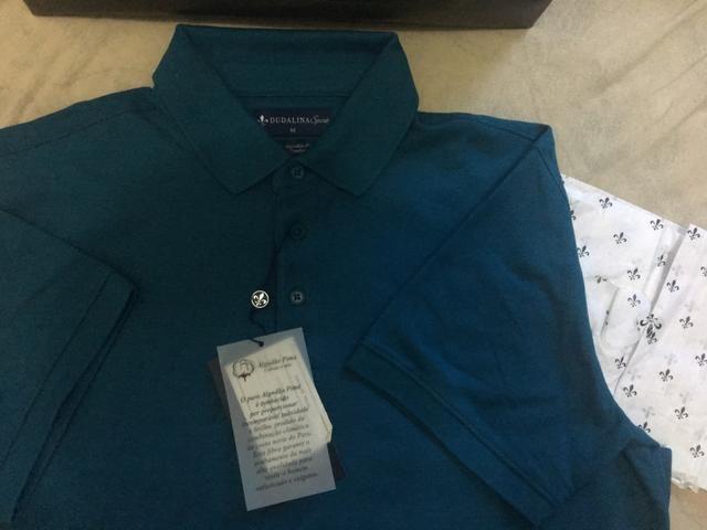 Camisa Polo Dudalina Masculina - Roupas e calçados - Vila Bremen ... f422d80c1cd25