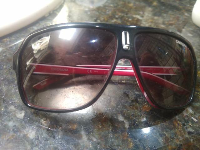 d5a08a410a9ad Óculos carrera vermelho e preto original - Bijouterias, relógios e ...