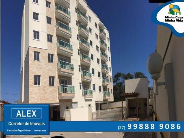 ALX - Apartamento: 2 Quartos com Suíte a 100 metros da praia de jacaraÍpe.[IS-97]
