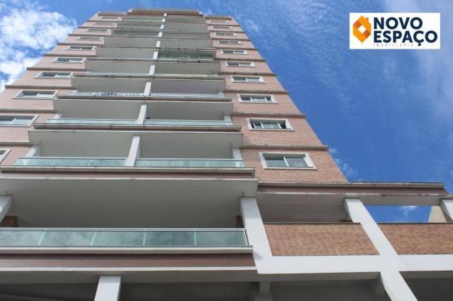 Apartamento com 2 dormitórios para alugar, 70 m² por R$ 1.000/mês - Centro - Campos dos Go