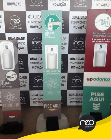 Totem para Álcool em Gel a partir de R$ 250,00 - Foto 4