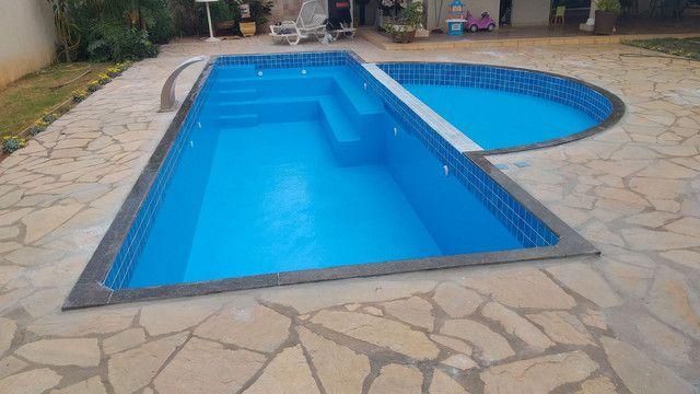 Construímos e reformamos sua piscina e colocamos aquecimento da sua piscina  - Foto 3