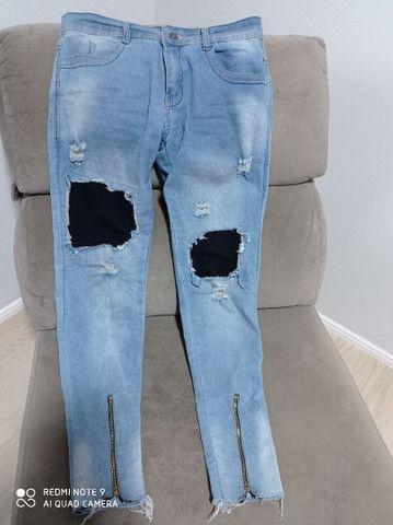 Calça jeans billa bong