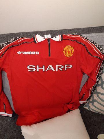 Camisa manchester united Retro - Foto 3