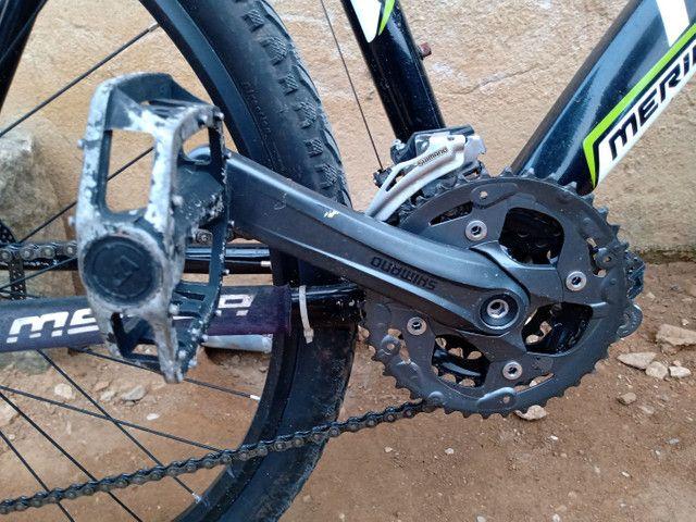 Pra vender hoje. Bike MERIDA 27.5, tamanho 17 - Foto 2