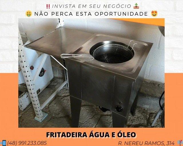 Fritadeira água e óleo 36 litros   Matheus