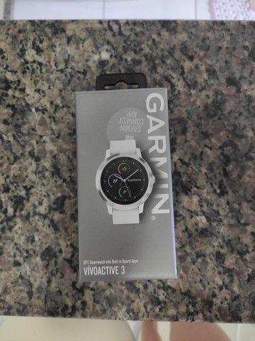 Relógio Garmin Vivoactive 3 Branco