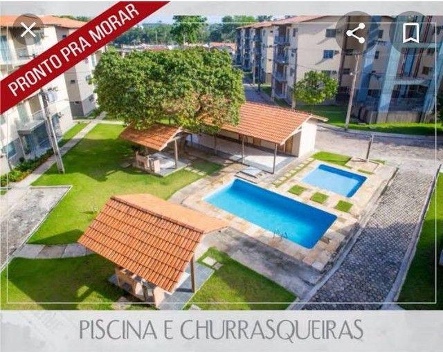 Cond. Parque Itaóca - vende ótimo apartamentos com sacada, 2/4 com e sem suíte.