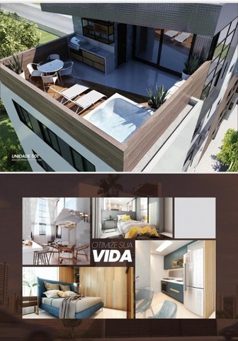 Apartamento Bancários com, 1 ou 3 Quartos com Área de Lazer na Cobertura - Em Construção! - Foto 2
