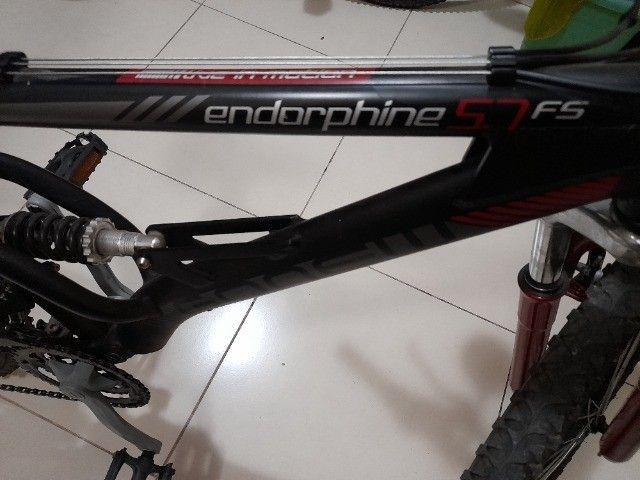 : Bicicleta Gonew Endorphine 5.7 Thumb Shifter- Shimano Alumínio Aro 26 - - Foto 2