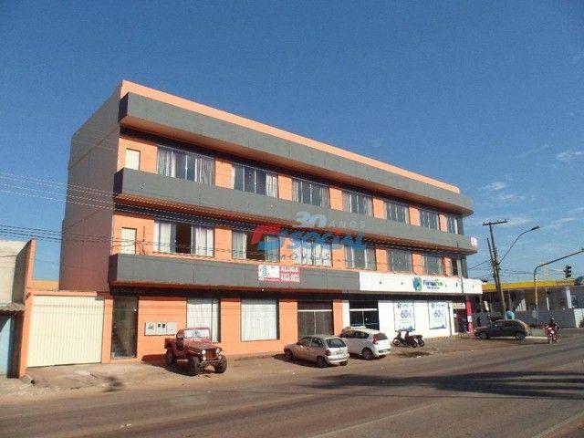 Prédio Comercial para locação, com Rede Logica, Elevador e Estacionamento, Av. Jorge Teixe - Foto 2