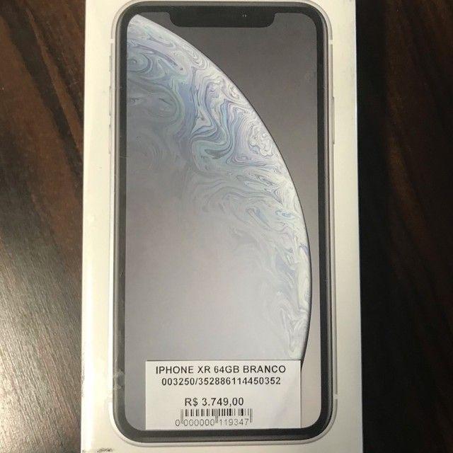 iPhone XR 64GB novo lacrado anatel
