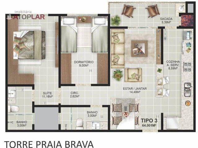 Apartamento à venda, 64 m² por R$ 552.706,00 - Praia dos Amores - Balneário Camboriú/SC - Foto 5