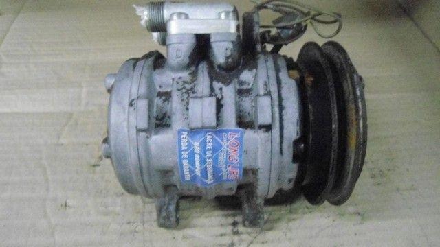 compressor ar condicionado gol 1.0 g3/g4 - Foto 2
