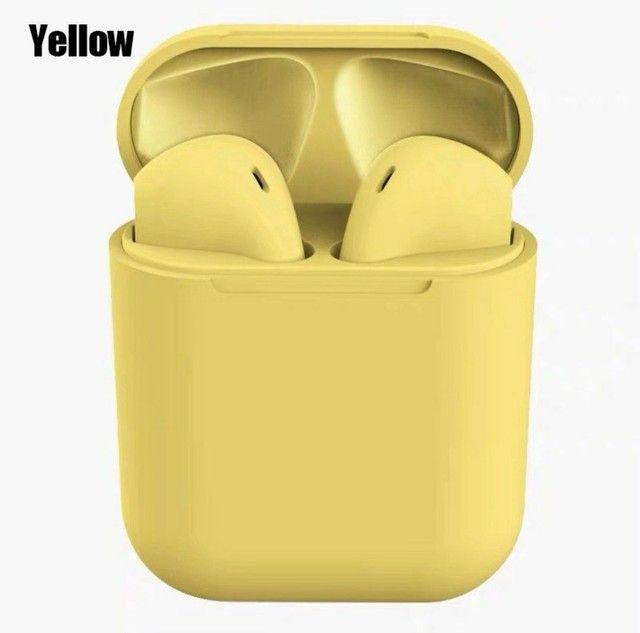 Inpods 12 Tws Macaron Fone De Ouvido Bluetooth 5.0 Sem Fio  - Foto 5