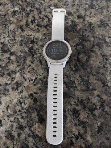 Relógio Garmin Vivoactive 3 Branco - Foto 3