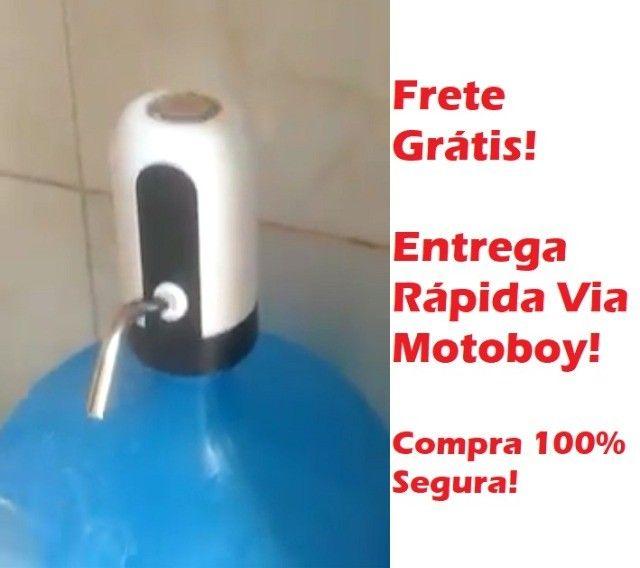 Moderna Bomba (Recarregável USB) para Galão D'agua Frete Já Incluso!