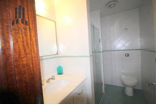 Apartamento com 3 dormitórios para alugar, 120 m² por R$ 2.000,00/mês - Centro Cívico - Cu - Foto 7