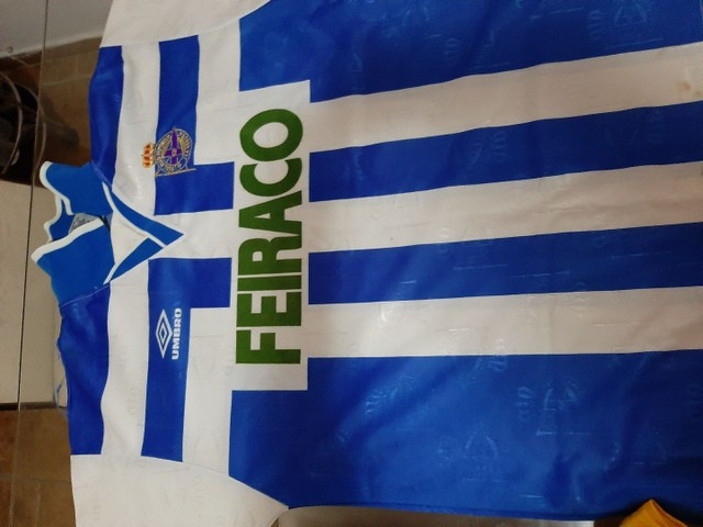 Camisas futebol clássicas Holanda,  Milan,  Bayern München e La Coruña. - Foto 5