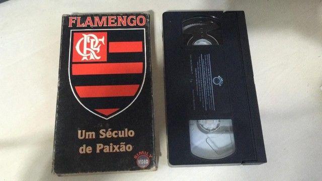 Fita Cassete - Flamengo - Um Século de Paixão