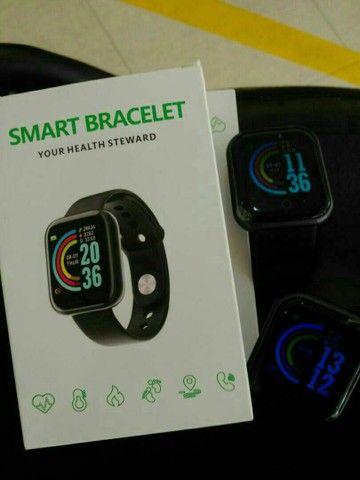 Relógio Smartwatch D20 conexão via bluetooth do celular.  - Foto 2