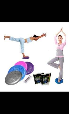 Bola Pilates,mini cicle,kit multifuncional,escada,disco de equilibrio - Foto 6