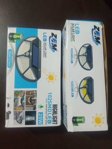Luminária solar 3 funções