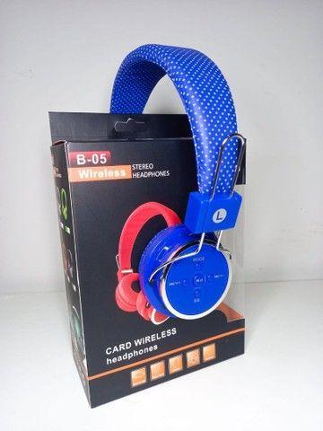 Fone Bluetooth B05 Sem Fio  - Foto 5