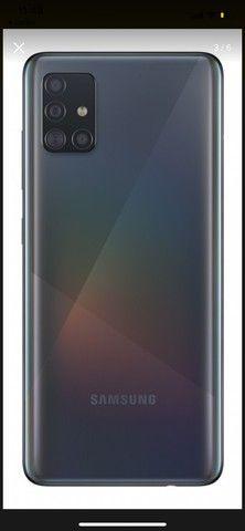 Celular A51 novo 128gb - Foto 2