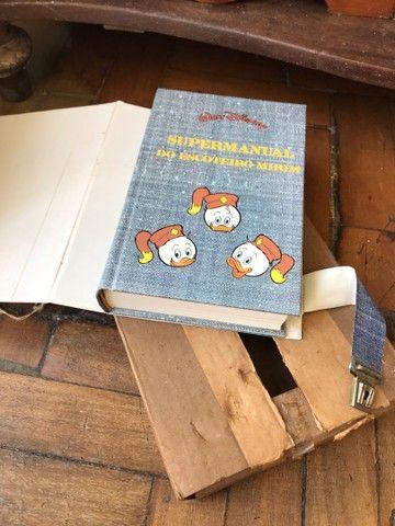 Super manual do escoteiro mirim walt  disney - Foto 6