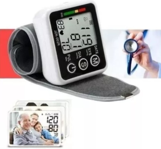 (NOVO) Medidor de pressão de pulso - Foto 2