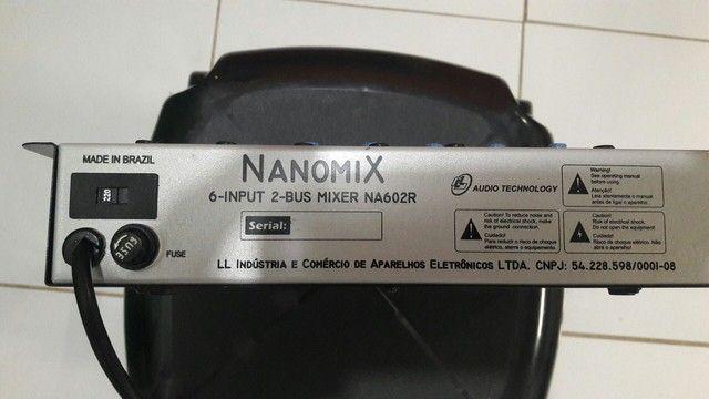 Mesa de som nanomix 7 canal 320 - Foto 3
