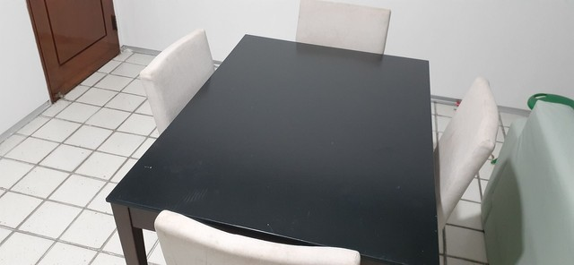 Mesa de jantar com 4 cadeiras  - Foto 5